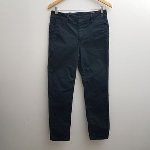 VINCE Chino Pants Capri Trousers Navy Blue Size 28